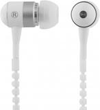 Streetz zipper in-ear headset, mikrofon, svarsknap