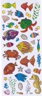 Folierad havet liv dekal för barn hantverk   Under havet hantverk