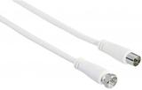 Hama kabel sat f plug-coax hona 90db 5m st
