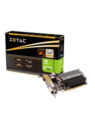 GeForce GT 730 ZONE Low Profile - 4GB GDDR3 RAM - Grafikkort