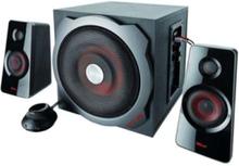 GXT 38 - högtalarsystem - För PC - kabel - 2.1-kanals - Black