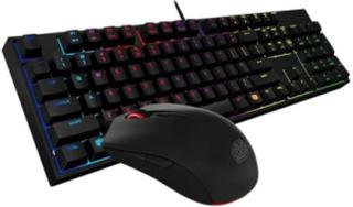 MasterKeys Lite L Combo RGB - US - Gaming Tangentbord & mus - Amerikansk Engelska - Svart