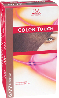 Kjøp Wella Professionals Care Deep Browns Color Touch 6/77, 6/77 Deep Browns Intense Chocolate Wella Toning Fri frakt