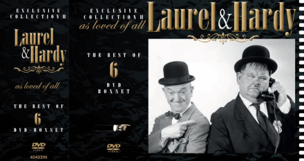 Laurel & Hardy Exclusive Collection - Vol. 1 (6-disc) - DVD