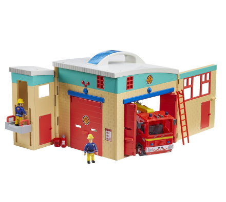 Fireman Sam - Electronic Fire station Playset