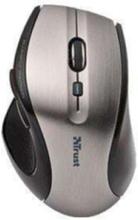 MaxTrack Wireless Mini Mouse - Mus - Optisk - 6 knapper - Sølv