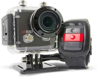 Kaiser baas x100 wifi actionkamera med handledsfjärr och wifi