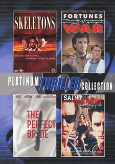 Platinum thriller collection / 4 filmer (2dvd)