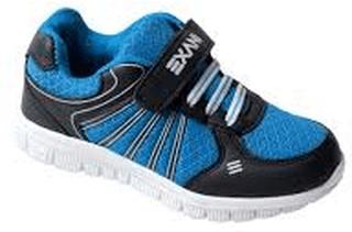 Barnskor sommarskor gymnastikskor exani pulse jr - blå svarta