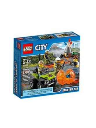 City 60120 Vulkan – Startsæt - Proshop