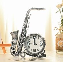 Wecker Saxophon geformt Vintage Style Home dekorative Uhr