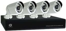 C8CHCCTVKITD1080 - DVR + kamera/kameror