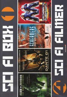 Sci-fi / box 1- 4 filmer (2dvd)