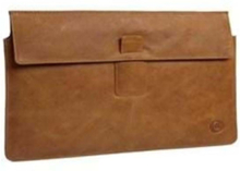 "Leather Envelope 15"" Brown"
