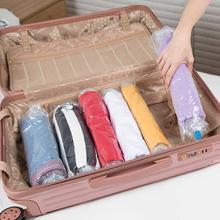 10 Stück Hang Roll Vakuum-Kompressionskleidung Aufbewahrungstasche für Hausreisen