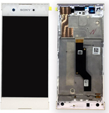 Sony display LCD komplett enhet med ram för Xperia