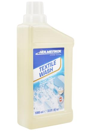 Holmenkol Textile Wash 1000ml , läpinäkyvä 2018 Tekstiilien pesu