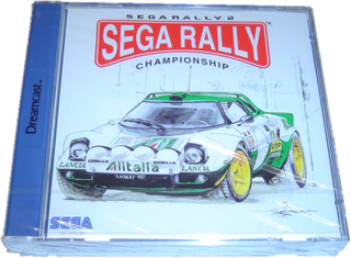 Sega rally 2 championship sega dreamcast