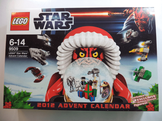 Lego star wars 2012 advent calendar - modell 9509