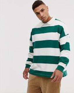 Topman rugby in green stripe - Multi