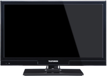 "Telefunken 22"" smart led tv 22fw6217 wifi & 12v, kabel ingår"
