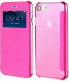 Iphone 7, iphone 8 hot pink skydd / skal med displ