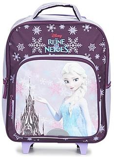Disney Rygsække / skoletasker med hj REINE DES NEIGES SAC A DOS TROLLEY 35CM Disney