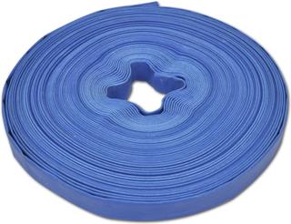 vidaXL flad slange 50 m 1