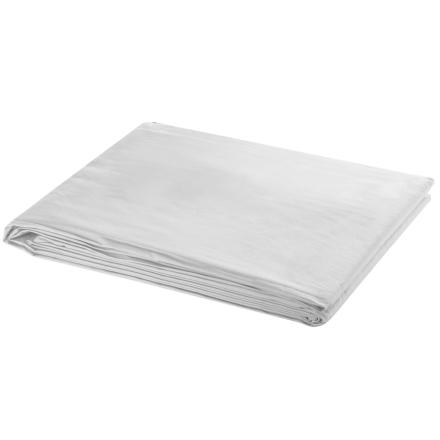 vidaXL fotobaggrund hvid 300 x 300 cm
