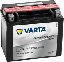 Varta Motorcykelbatteri Powersports AGM YTX12-4/YTX12-BS