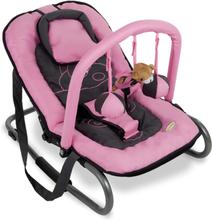 Baninni Babysitter Relax Classic rosa flodhäst BNBO002-PKHP