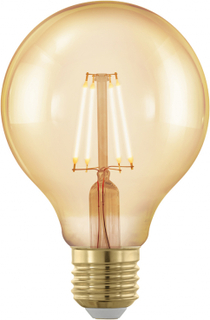 EGLO LED-lampa Golden Age dimbar 4 W 8 cm 11692