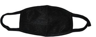 Munskydd - svart - dubbelpack
