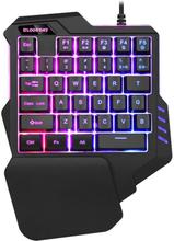 Enhands Gaming Tangentbord med belysning - 7 RGB färger