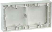 Elko Plus Förhöjningsram för infällda strömbrytare, vit