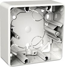 Schneider Exxact-serien Förhöjningsram för dimmer, vit