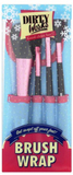 Dirty works brush wrap set / makeup borst set- chr