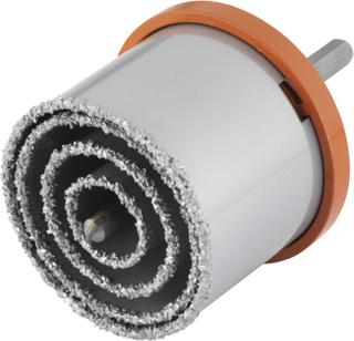 wolfcraft rørlednings-hulsav sæt i seks dele 33/53/73/83 mm 3478000