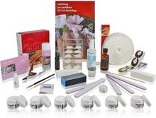 Stort akryl start nagelset, komplett kit, europeisk kvalitet.