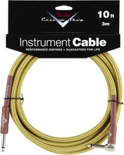 Fender Custom Shop Performance Straight/Angled Tweed Instrument Jack Cable (3,0 m)