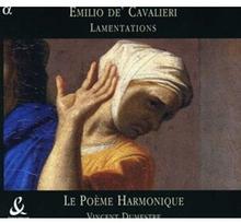 Lamentations (Dumestre Le Poeme Harmonique) - Lamentations (Dumestre Le Poeme Harmonique) (Audio CD)