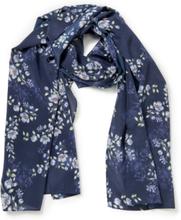 Scarf i 100% silke från Uta Raasch blå