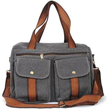 Rymlig Messenger Bag / Laptop väska