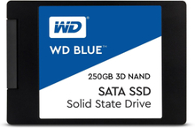 "WD Blue 3D 250GB 2.5"" SSD SATA6.0Gbps, 3D NAND, 550/525 MB/s Read/Write, 7mm"