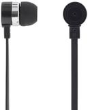 Deltaco stereo headset, in ear hörlurar, svart
