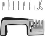 Ergonomisk multi-funktionell kniv/sax slip 4-i-1