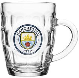 Manchester City Ølglas Logo