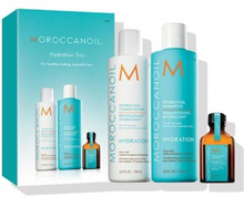 Moroccanoil Hydrating Shampoo & Conditioner & Oil Treatment 2 x 250 ml + 25 ml