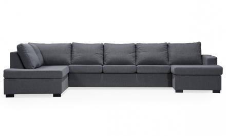 ÖLAND U-soffa XL Vänster Grå