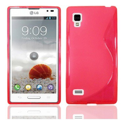 Back cover p760 optimus l9 style pink